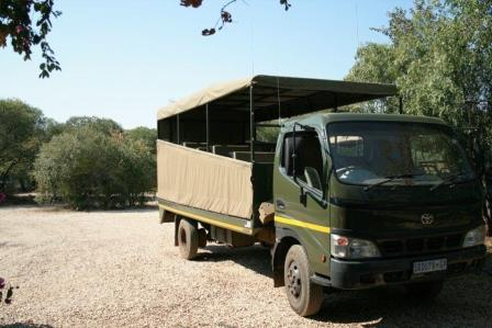 Shammah Game Drive vehicle