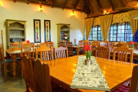 Our spacious dining room